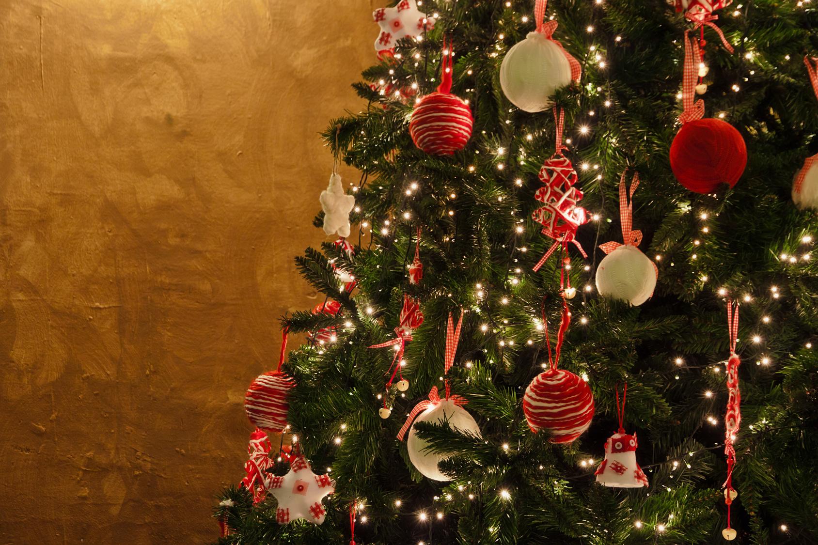 Decoraci n navide a con beb s imfer blog lo que quieres saber de fertilidad - Arbol de navidad en casa ...